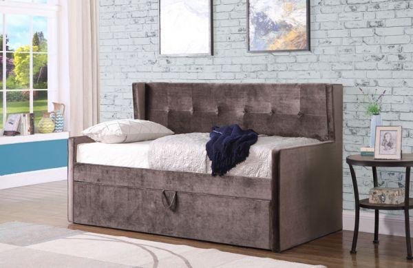 Sweet Dreams Lucas Mink Velvet Day Bed