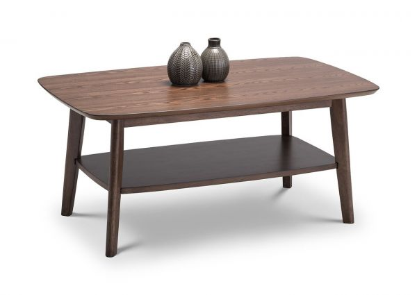 Julian Bowen Kensington Walnut Coffee Table