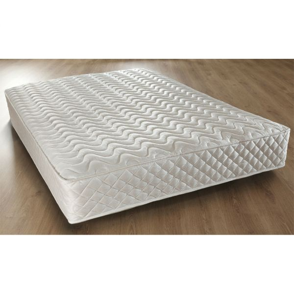 Memory Foam Quilted Sprung Mattress in 6 Sizes