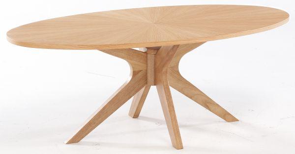 LPD Malmo Coffee Table - White Oak