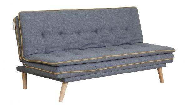 LPD Marcel Fabric Sofa Bed - Grey