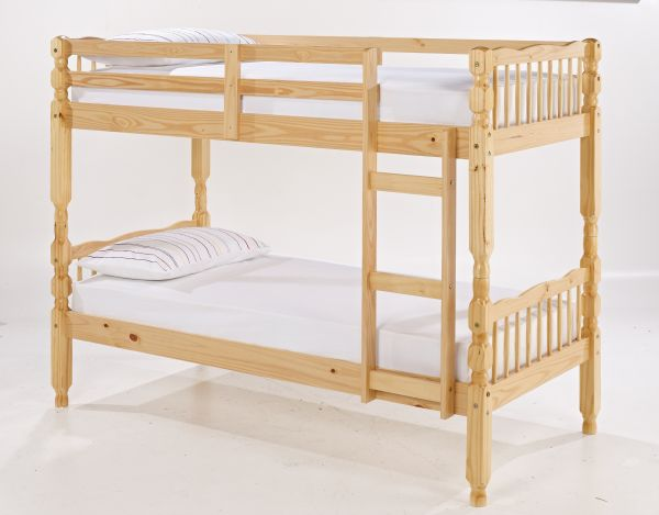 LPD Melissa Pine Wood Bunk Bed Frame
