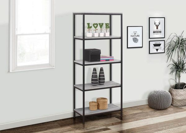 Birlea Midtown Industrial 5-Tier Bookcase