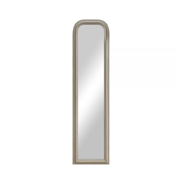 Arched Leaner Mirror - White