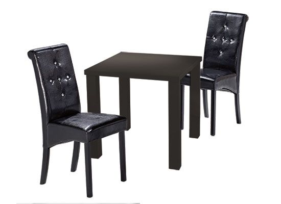 LPD Monroe Small Dining Table - Black or White