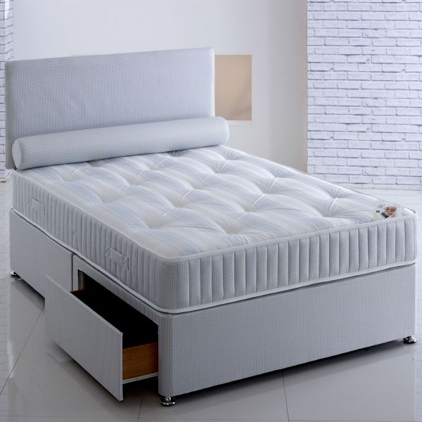 Vogue Majesty Ottoman Orthopaedic Sprung Divan Bed 5FT King