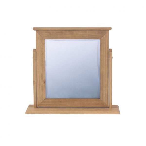Corona Rustic Pine Single Mirror