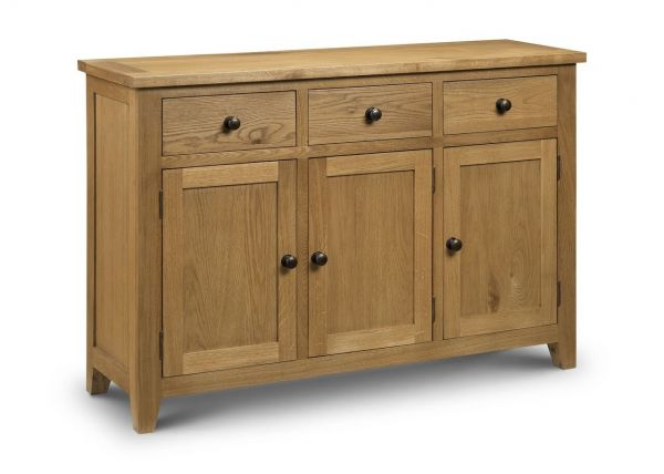 Julian Bowen Astoria Oak Storage Sideboard