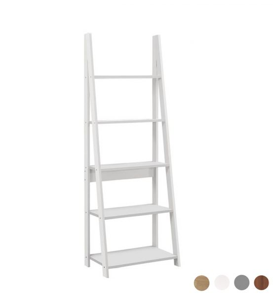 Birlea Dayton Ladder Bookcase - 4 Colours