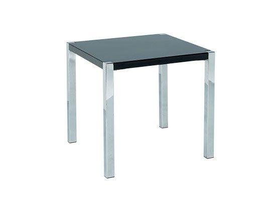 LPD Novello High Gloss End Table - Black or White