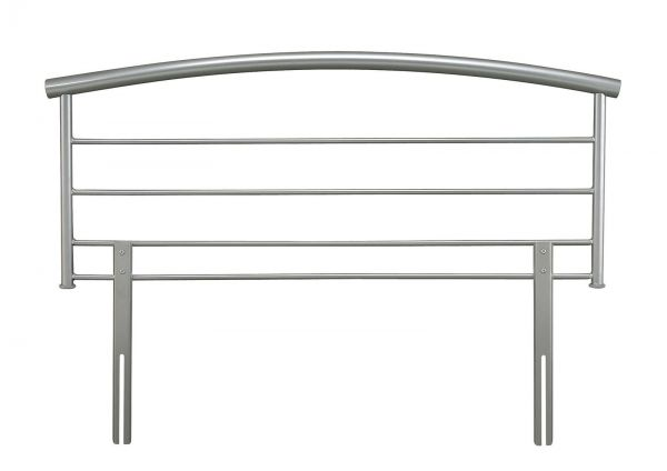 Brennington Silver Metal Headboard - 3 Sizes