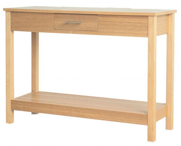 LPD Oakridge 1 Drawer Console Table - Oak