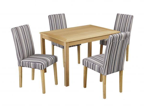 LPD Oakridge Medium Dining Table - Oak