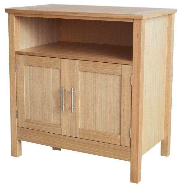 LPD Oakridge 2 Door TV Stand Unit - Oak