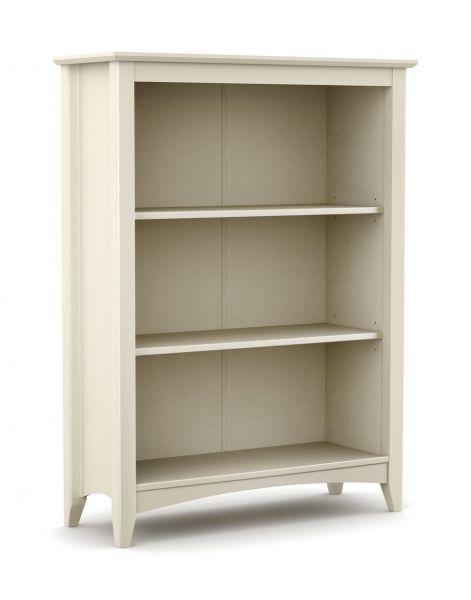 Julian Bowen Cameo Stone White Bookcase