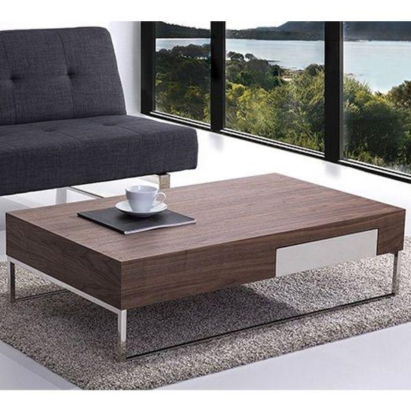 Gudra Dark Wood Coffee Table