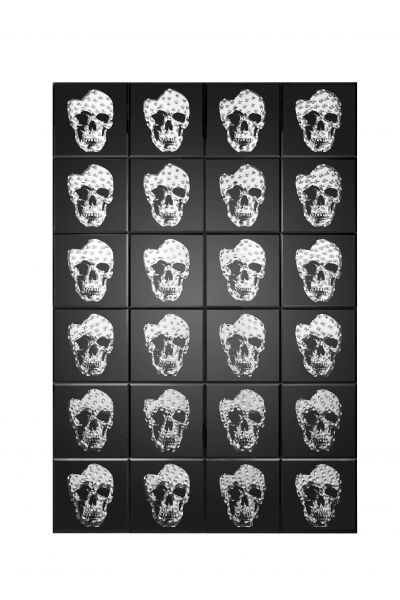 LPD Valentina Mirrored Skull Print