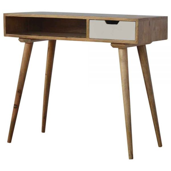 Writing Desk with Hand Painted Drawer