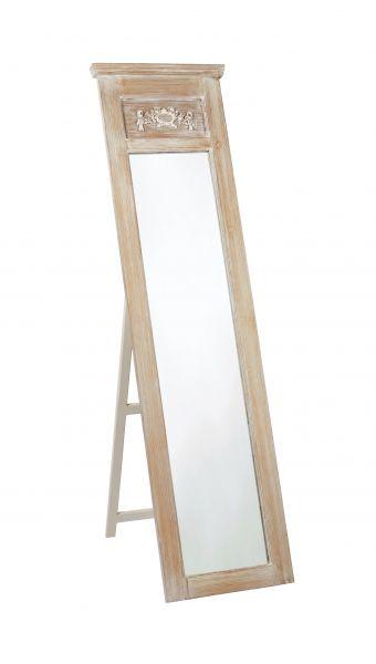 LPD Provence Tall Standing Mirror - Oak