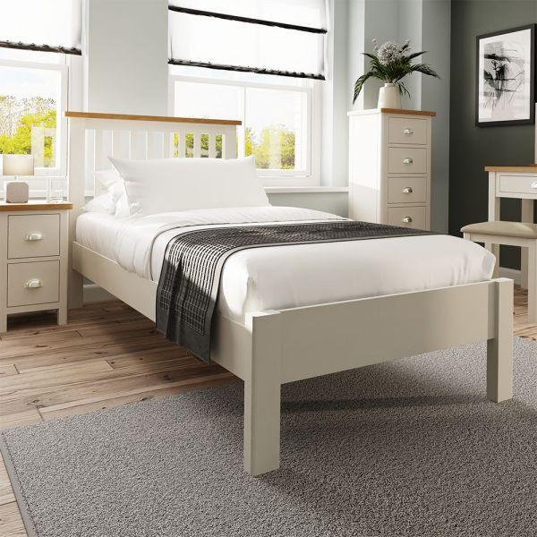 Palit 3FT Single Bed Frame - Dove Grey