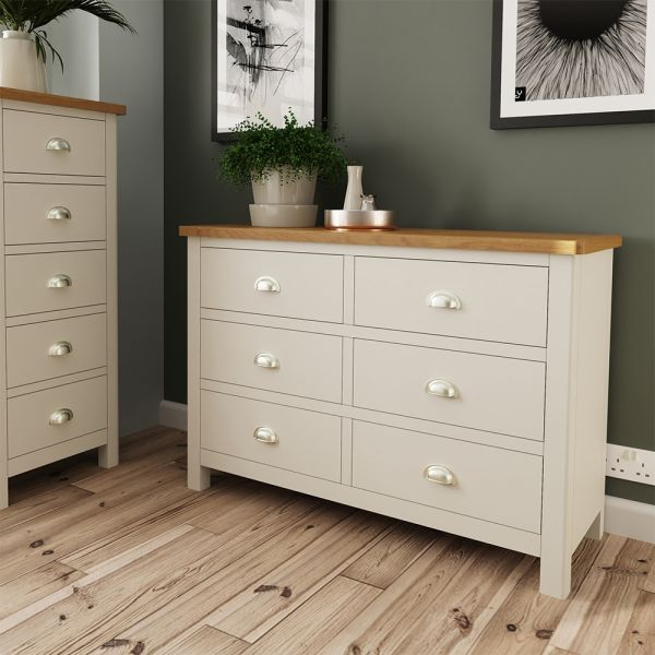 Palit 6 Drawer Chest Of Drawers - Dove Grey