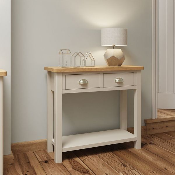 Ether Console Table - Dove Grey