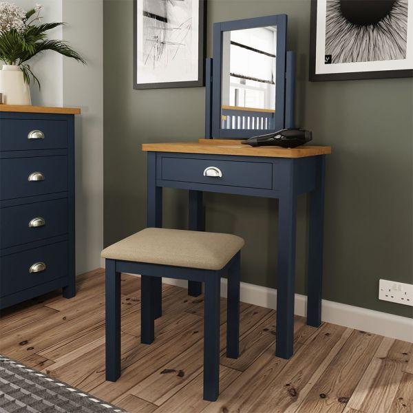 Alcia Dressing Table - Blue