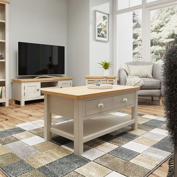 Ether Large Coffee Table - Dove Grey