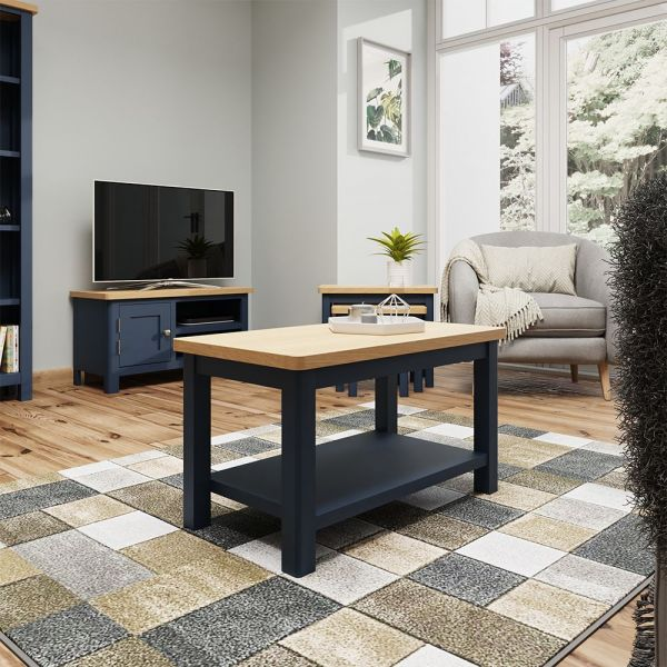 Astar Small Coffee Table - Blue