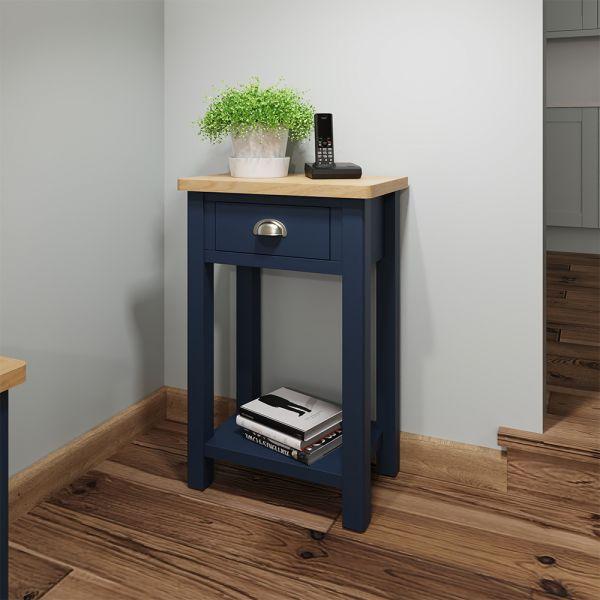 Astar Telephone Table - Blue