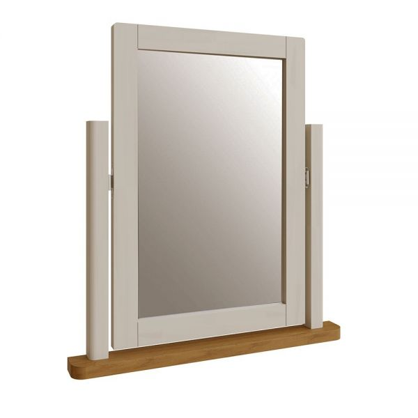 Palit Trinket Mirror - Dove Grey