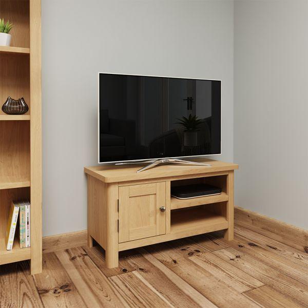 Herman TV Unit - Rustic Oak