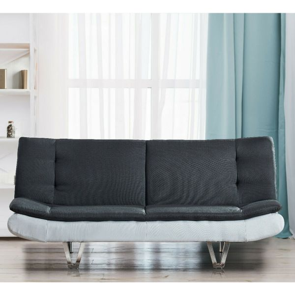 Luxury Faux Leather 3 Seater Sofa Bed - 2 Colours