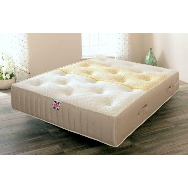 Menresa Pocket Sprung Memory Foam and Wool Mattress