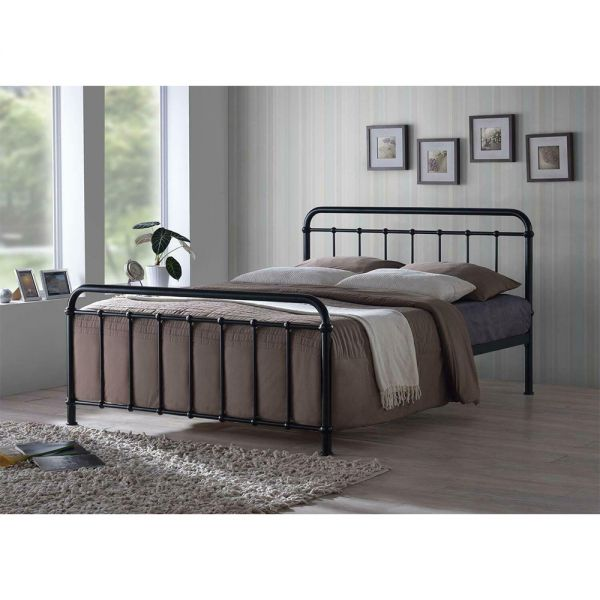 Maimi Metal Bed Frame with Mattress Option