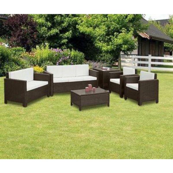 Modern Rattan Garden Furniture Set - 3 Colours
