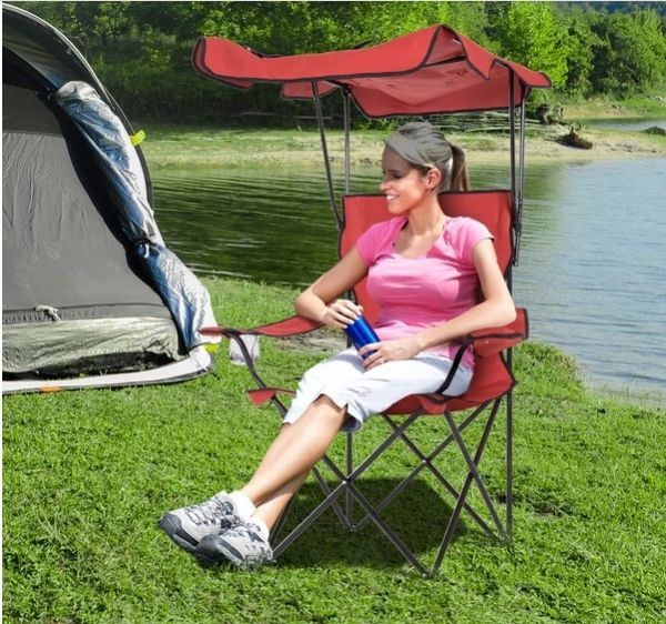 Outsunny Folding Chair - 2 Colours