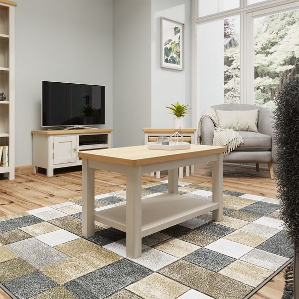Ether Small Coffee Table - Dove Grey