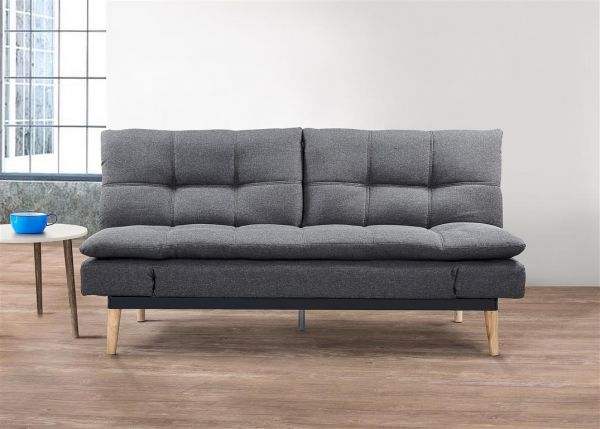 Birlea Squish Grey Fabric Sofa Bed