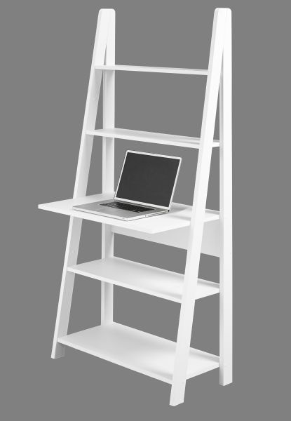 LPD Tiva Ladder Computer Desk Unit - Oak or White