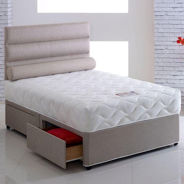 Vogue Harmony 1000 Pocket Divan Bed 4FT6 Double