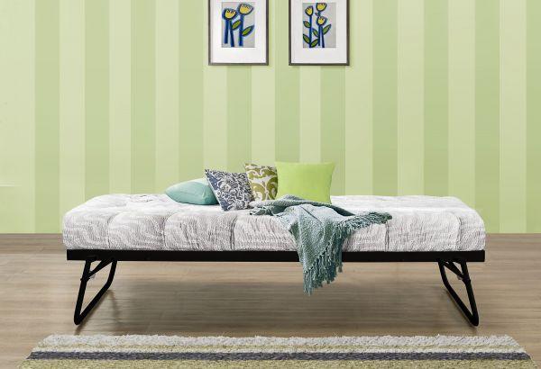 Birlea Black or Cream Trundle Bed