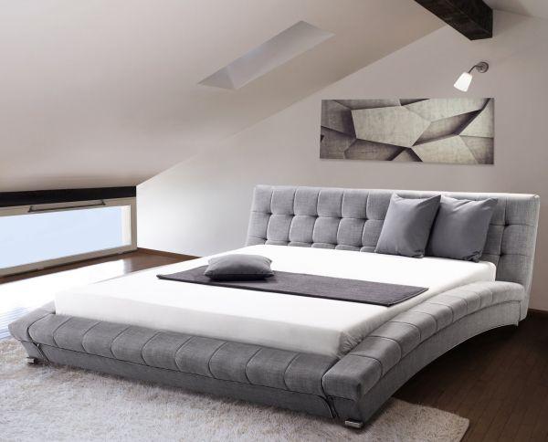 Lilie Fabric Bed - Kingsize & Super Kingsize