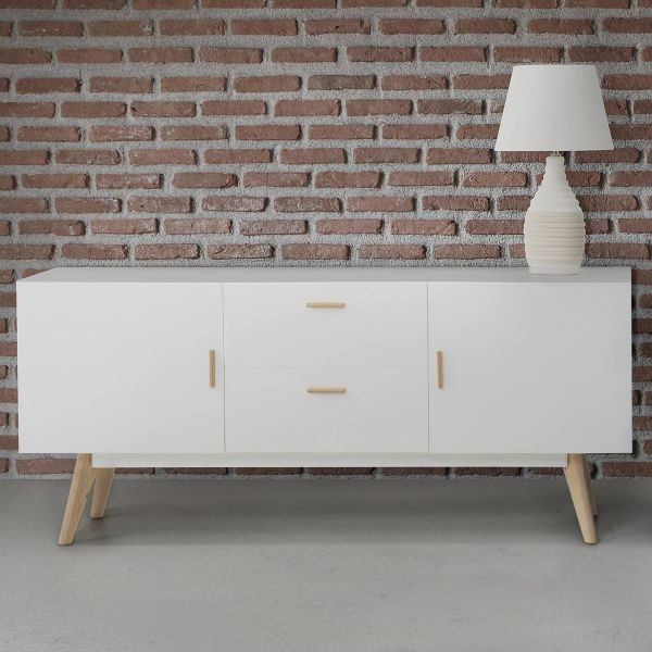 Met Chest of Drawers - White