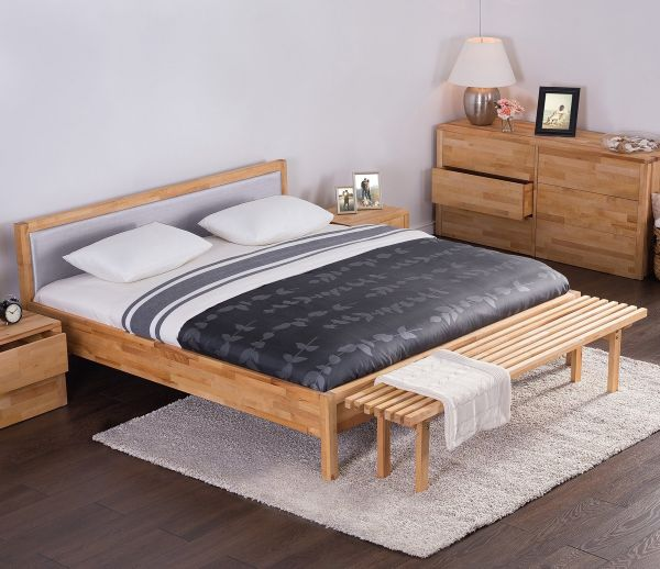 Cari Wooden Bed - Super Kingsize