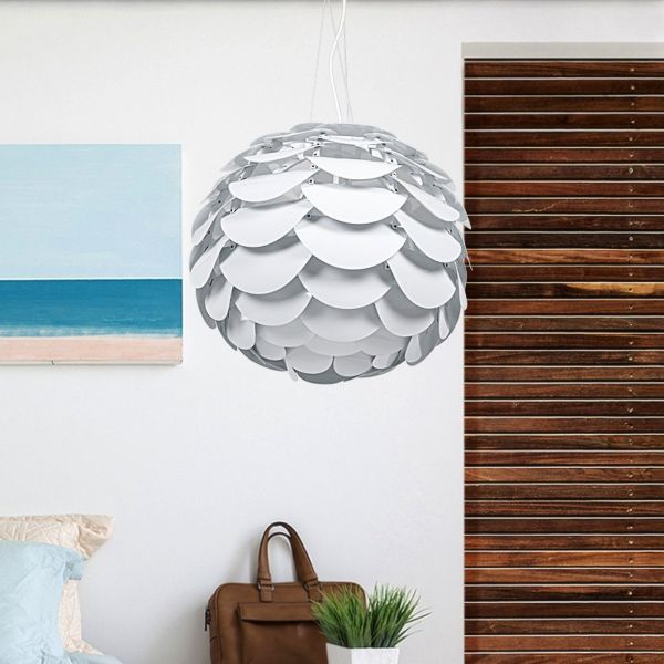 Mosel Pendant Ceiling Light - White