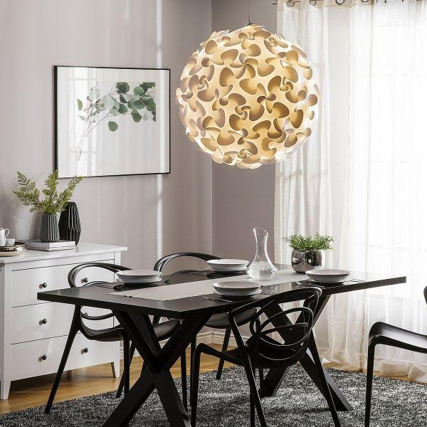 Maronn Large Pendant Plastic Lamp - White