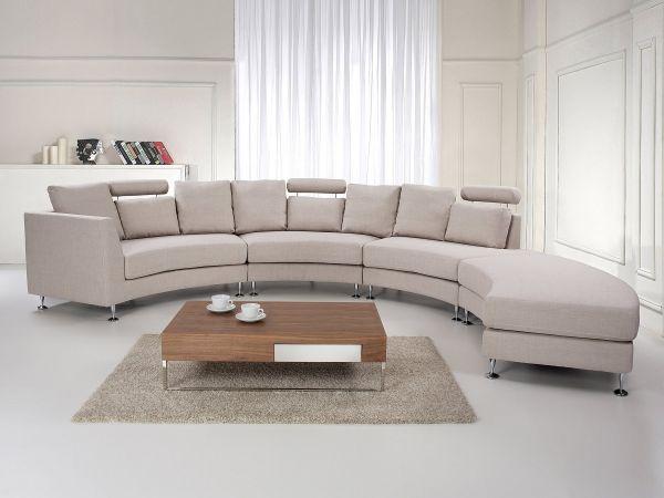 Roton Fabric Modular Sofa - Dark Grey, Light Grey or Beige