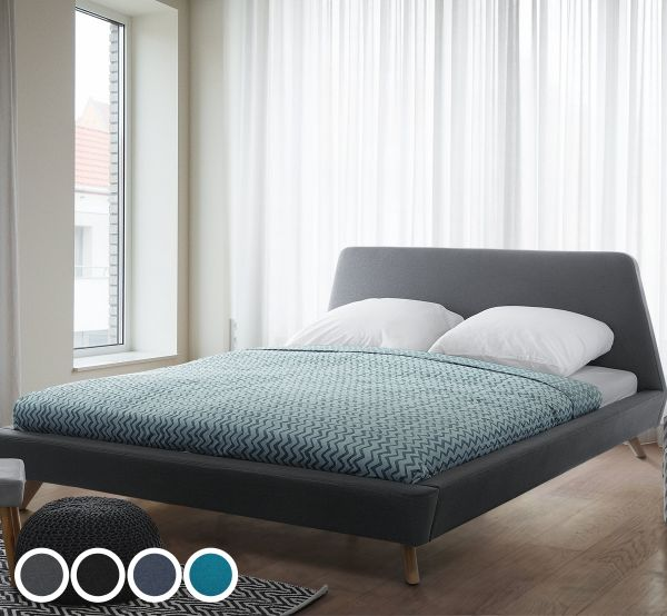 Viena Fabric Bed - 4 Colours