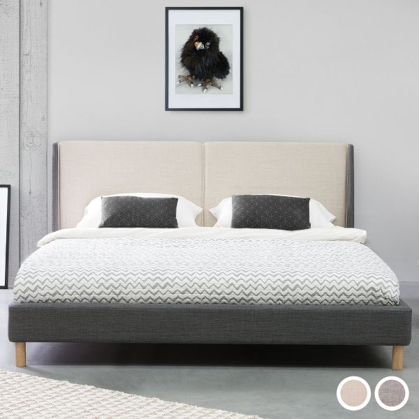 Valencia Fabric Bed - 2 Sizes